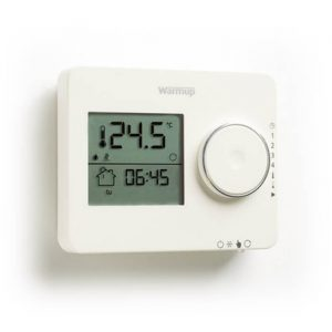 Warmup Tempo Programmable Thermostat In Porcelain White